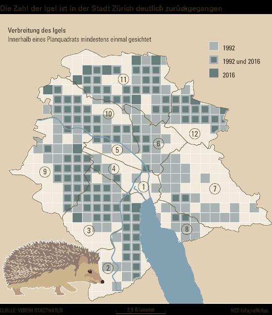 Igelverbreitung-1992-2016-Stadt-Zuerich-NZZ-171214